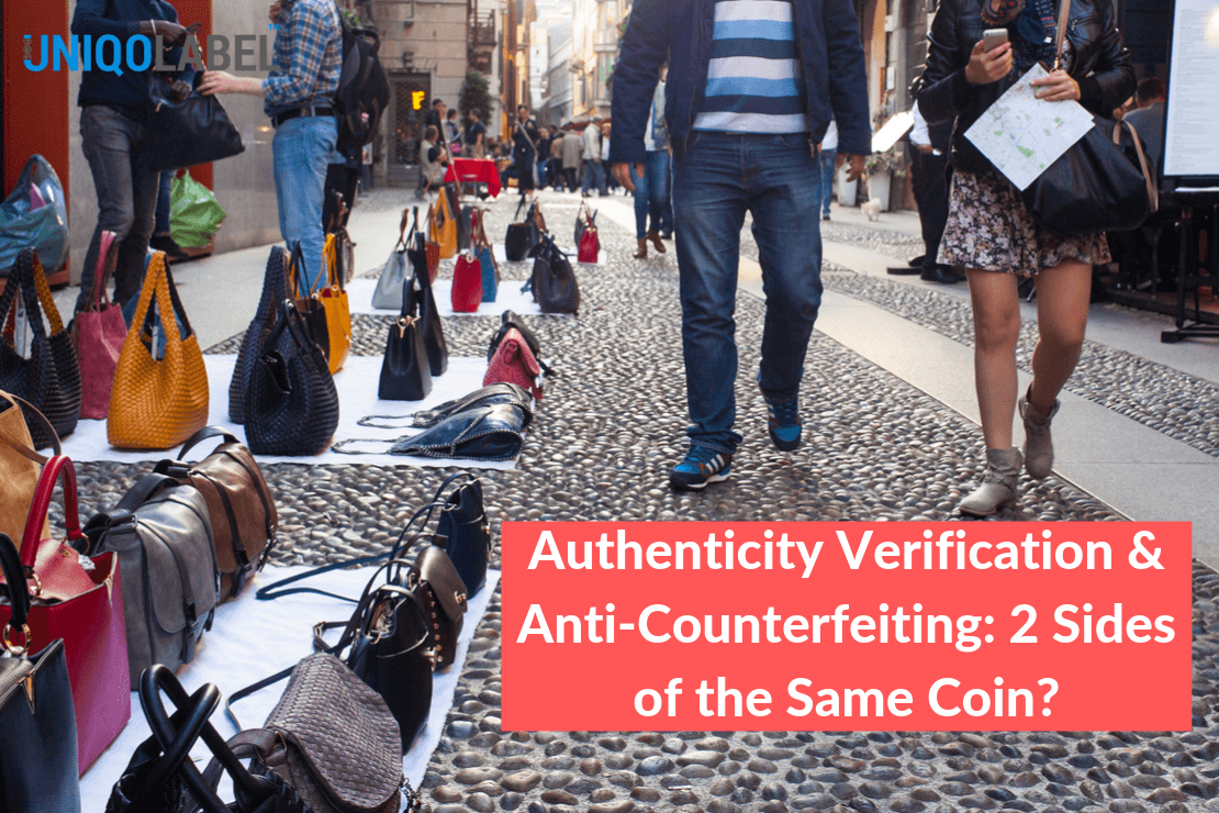 Authenticity Verification Anti-Counterfeit 2 Sides
